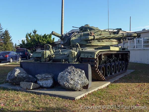 CAANG Armory - Santa Rosa, CA - M728
