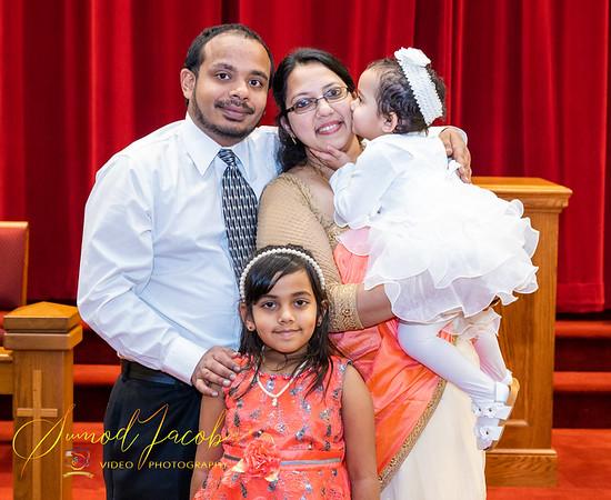 BAPTISM - JEWEL MARY RACHEL THOMAS