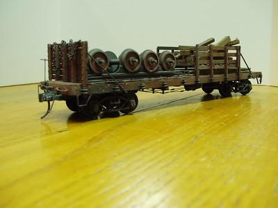 Rail Tie and Wheel Car