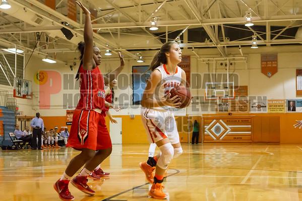 Boone Girls Varsity Basketball #23 - 2015