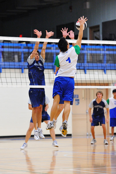Sr. Boys Volleyball at Father Lacombe Sr. High school