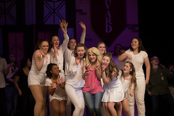 Arvada West Theatre Company - Legally Blonde - Dress Rehearsal