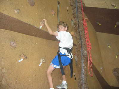 Trevor Rock Climbing
