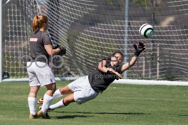 Oxy Women's Soccer vs Soka 9-2-13