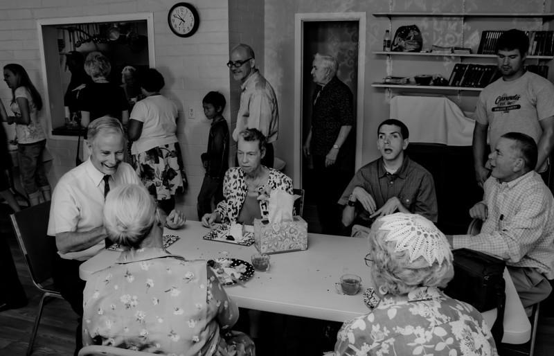 40th Wedding Anniversary celebration at Paul and Faith's Church, May 20, 2012
