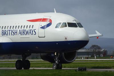 Airbus A320's of British Airways