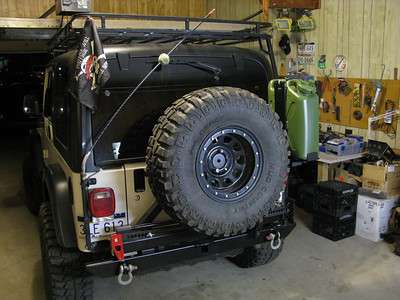 Rock Hard Tire Carrier