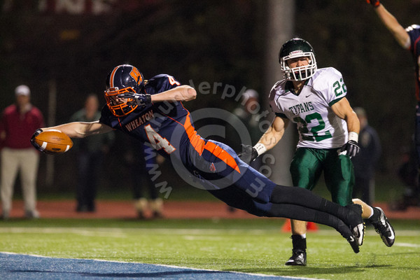 Wheaton College Football vs Illinois Wesleyan, October 20, 2012