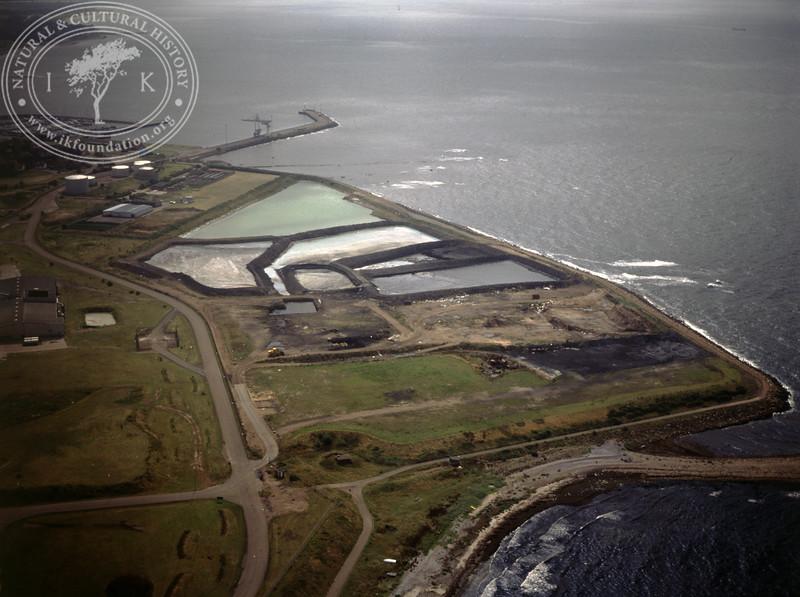 Höganäs, dams close to the coast (1990) | PH.0613