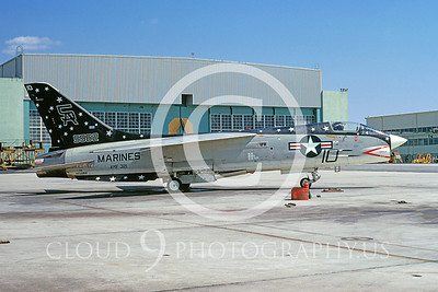 US Marine Corps Vought F-8 Crusader Military Airplane Pictures
