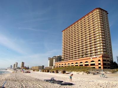 """Sunrise Beach Resort"" in Panama City Beach, Florida- November, 2011"