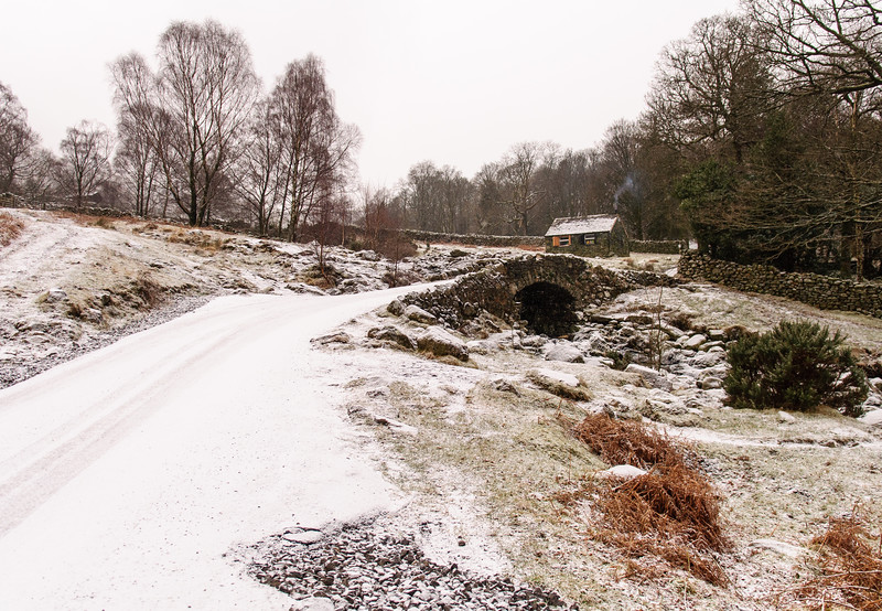 Snow at Ashness Bridge