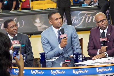2017 NBA Finals Game 2, Cavaliers vs Golden State