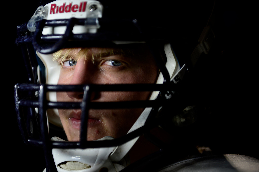 . Starting left tackle Alec Ruth.  (Photo by AAron Ontiveroz/The Denver Post)