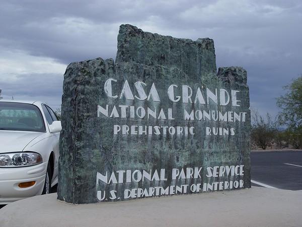 2004 Casa Grande National Monument - Coolidge AZ