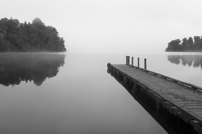 Lake Mapourika, South Island, New Zealand