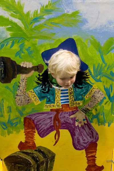 Quinton as a pirate