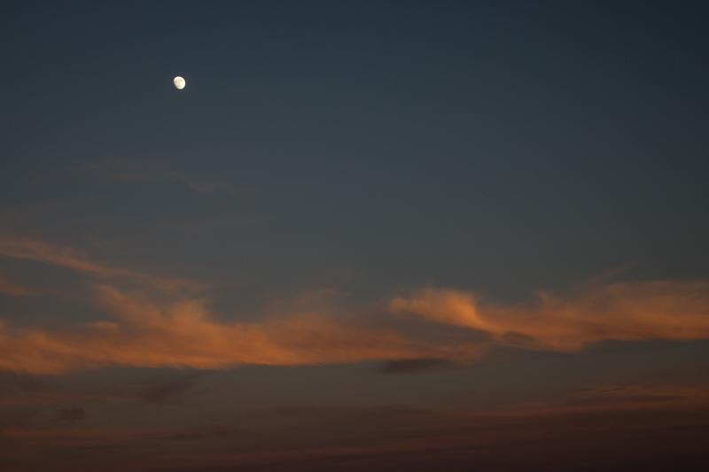 November 30 - Moonrise at sunset.jpg