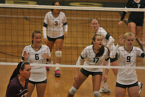 BABSON VOLLEY BALL V SPRINGFIELD  10.9.2012