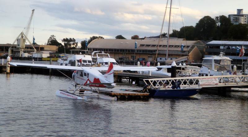 One does see the coolest things in this small harbour. In 2011 we emerged from the famous Overland Track to witness the first maxi yachts arrive at the end of the Sydney to Hobart race! Don't miss those pics in this gallery!