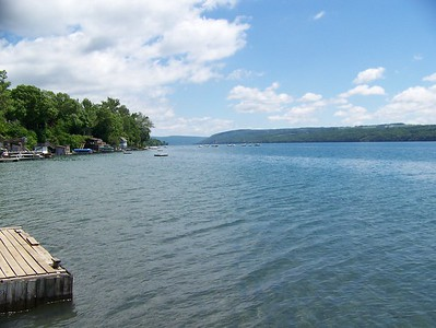 North end of Lake Skaneateles
