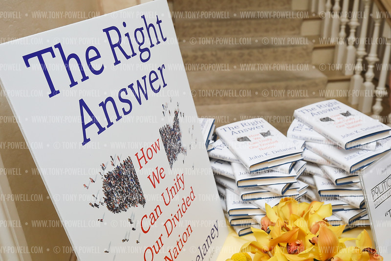 "John Delaney ""The Right Answer"" Book Party"