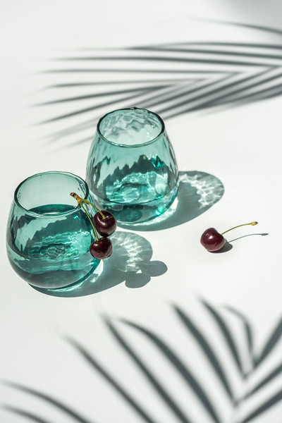 UNC Tumbler recycled glass Ocean