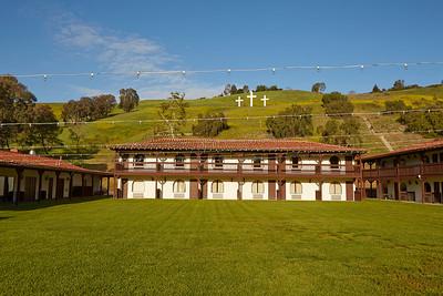 Crosses at Lakeside Sunrise 4-5-2014