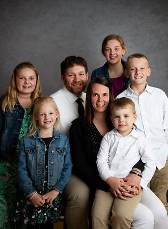 Martin, Pr. Micah, Julie, Olivia, Josiah, Nora, Mara, and Jonah
