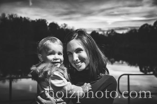 Crider Family B/W Photos