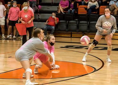 10/7/21 Varsity volleyball vs Gibault