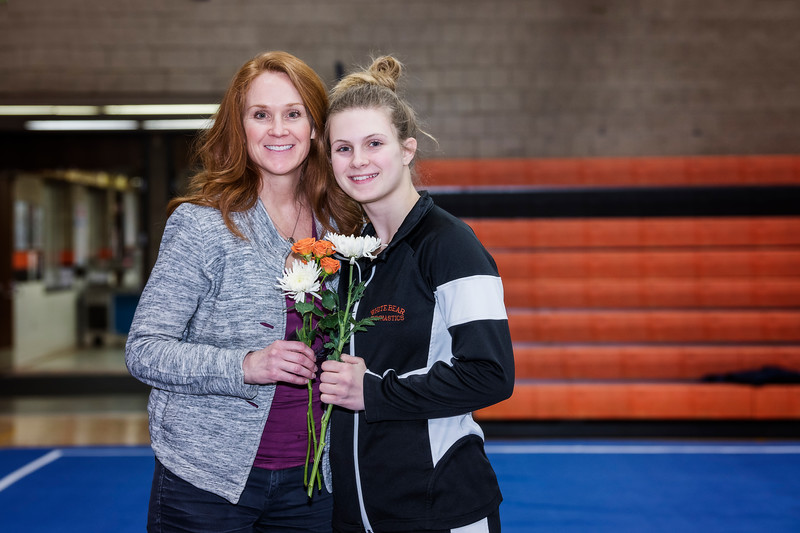 2018 WBL Gymnastics--Senior/Parent Night