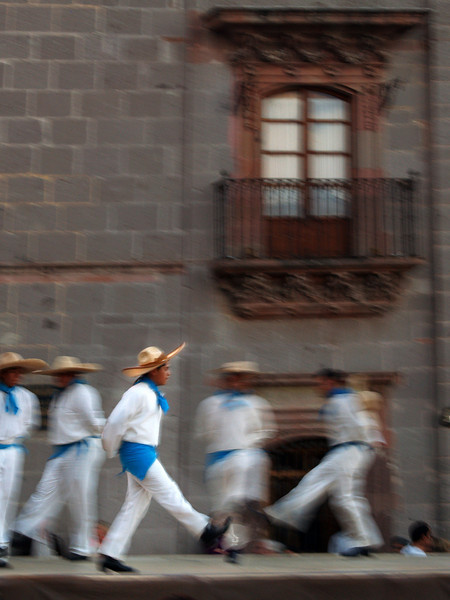 Dancers at the Jardin, San Miguel de Allende, Mexico