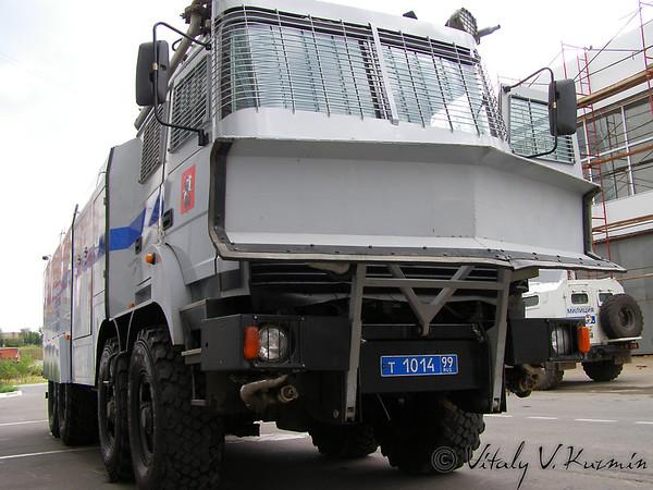 Moscow OMON antiriot vehicle Lavina-Uragan