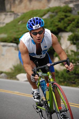 Donner Lake Triathlon 2014 Olympic and Half Bike