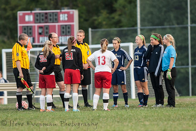 2013 PHS Girls Soccer vs Madison
