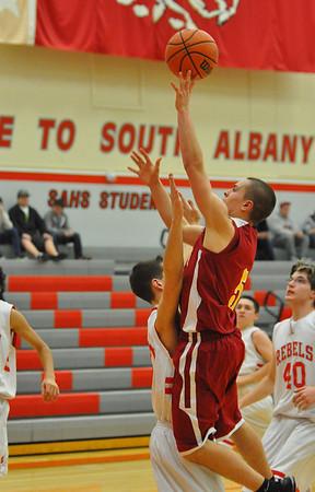 JV CV vs. South Albany Boys Basketball