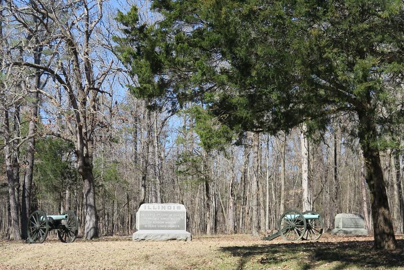 Day 1 - Union Lines near West Chickamauga Creek