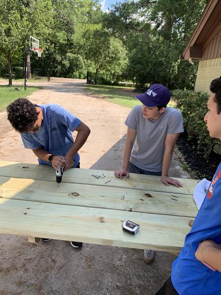 Felipe's Eagle Scout Project