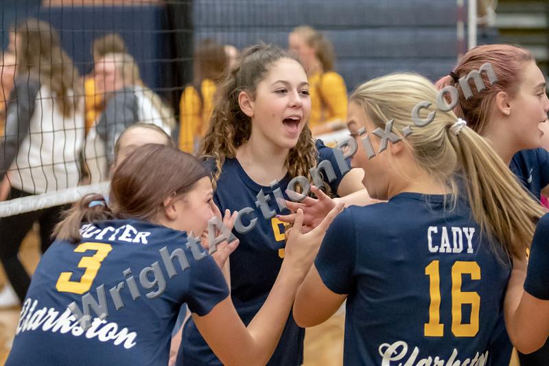 2019 Clarkston Volleyball