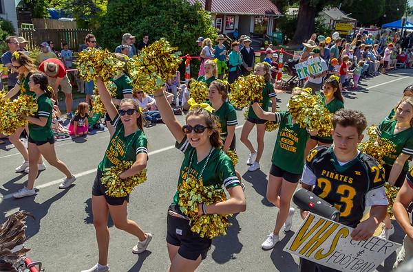 Set four the Grand Parade, Vashon Island Strawberry Festival 2019