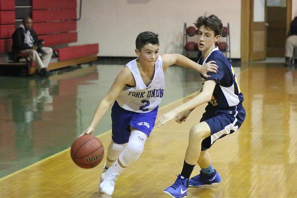 Middle School Basketball vs. C-Ville Catholic -- Jan. 11, 2018