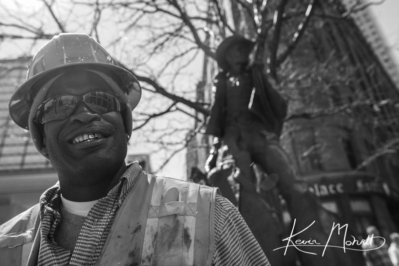 Denver Street Photography: Break Time