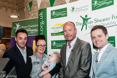 Alan Shearer Foundation Press Launch 31/5/12
