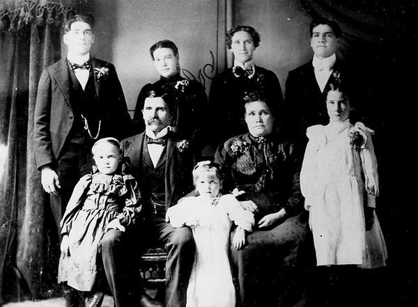 Abel John and Louisa Evans Family