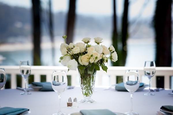 Amman and Kelly | Monarch Cove Inn wedding