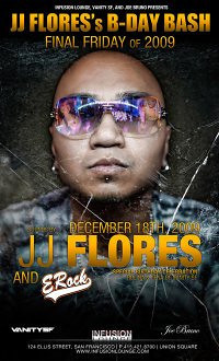 JJ Flores / Rolina Fuentes' Bdays @ Infusion Lounge 12.18.09