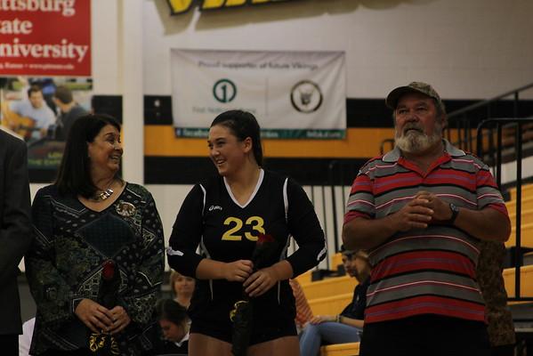 Volleyball Senor Night