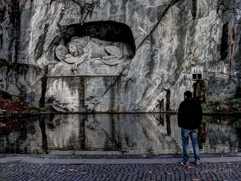 The dying lion. Lucerne, Switzerland
