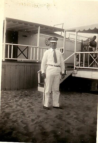 AH Band uniform, taken at Sandlass beach